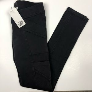 Prairie Underground Denim Archer Pants Black S NWT